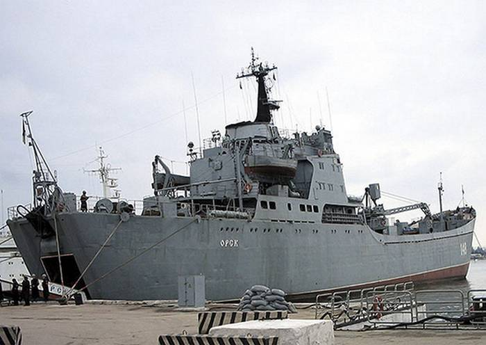 "BDK ""Orsk"" is included in the ships of constant readiness"