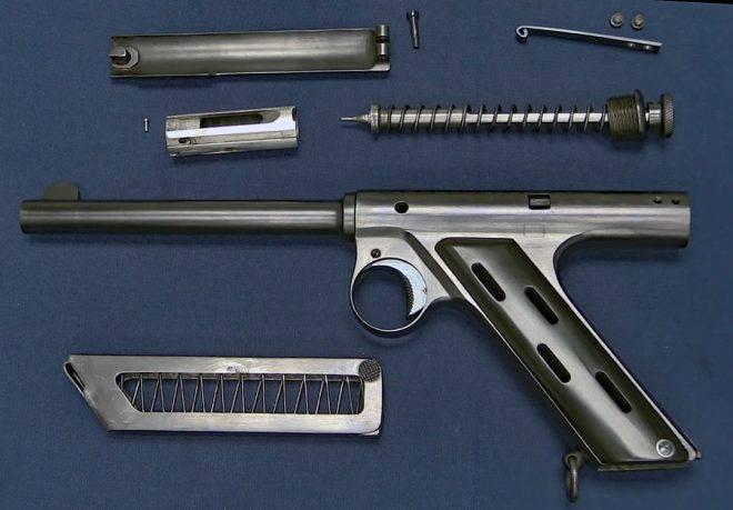 Maxim-Silverman pistola autocaricante (UK)