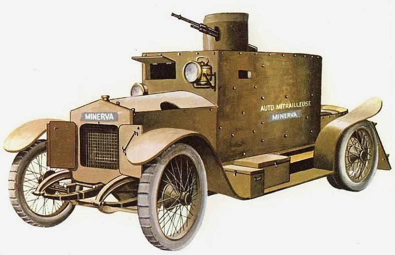 装甲车Minerva(比利时)