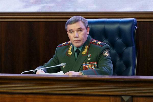 В.Герасимов: Сирийские войска блокировали американскую базу Эт-Танф в САР