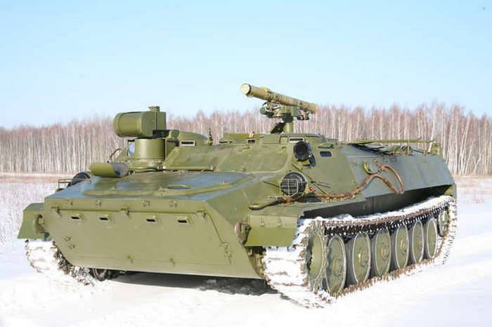 "Moscow Region artillerymen received a batch of anti-tank complexes ""Sturm-S"""