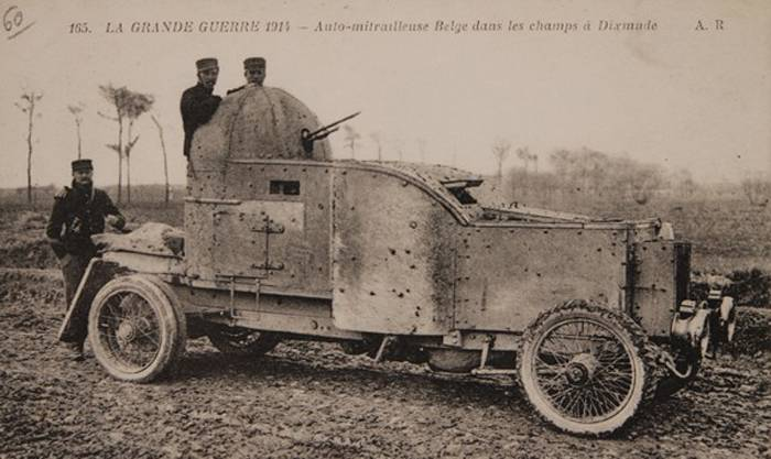 Armored car SAVA (Belgium)