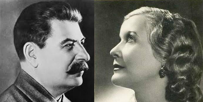 Stalin hakkında biraz. Lyubov Orlova'nın anılarından