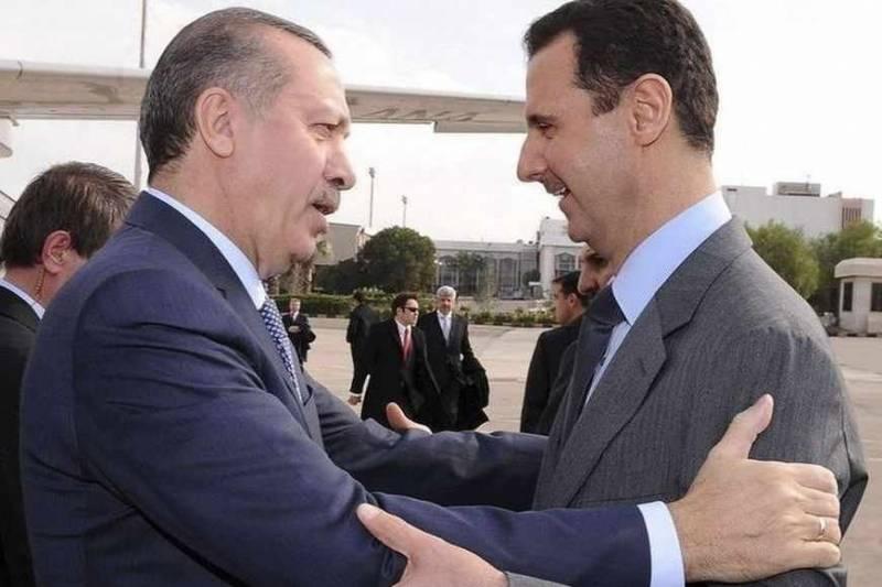 Эрдоган: Турция ненамерена сотрудничать сАсадом вСирии