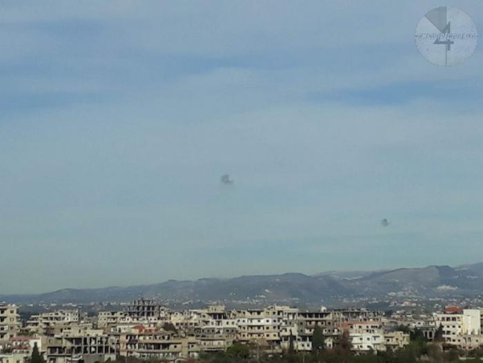 """""""Armadura"""" russa repeliu um ataque de foguete na base aérea de Khmeimim"""