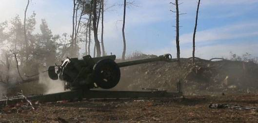 Militants of the SSA launched an offensive in the north of Latakia