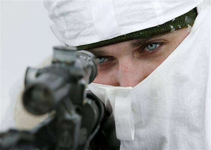 Large-scale sniper exercises were held in the Central Military District