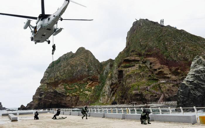 Corea del Sur mantendrá la defensa de la isla Dokdo, disputada por Japón