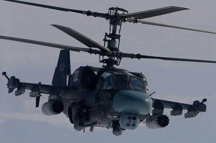 Новый полк в ЗВО полностью укомплектуют вертолетами Ка-52 в начале 2018 года