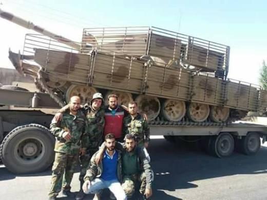 """""""Fuerzas especiales de tanques"""" sirios transferidos a la frontera con Israel"""