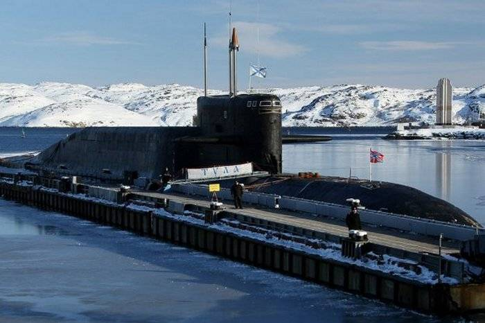 Repair of the Tula nuclear submarine missile carrier completed