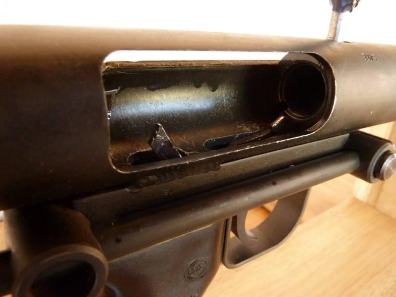 Glatter Gewehr Cobray Terminator. Schlimmste Schrotflinte der Geschichte