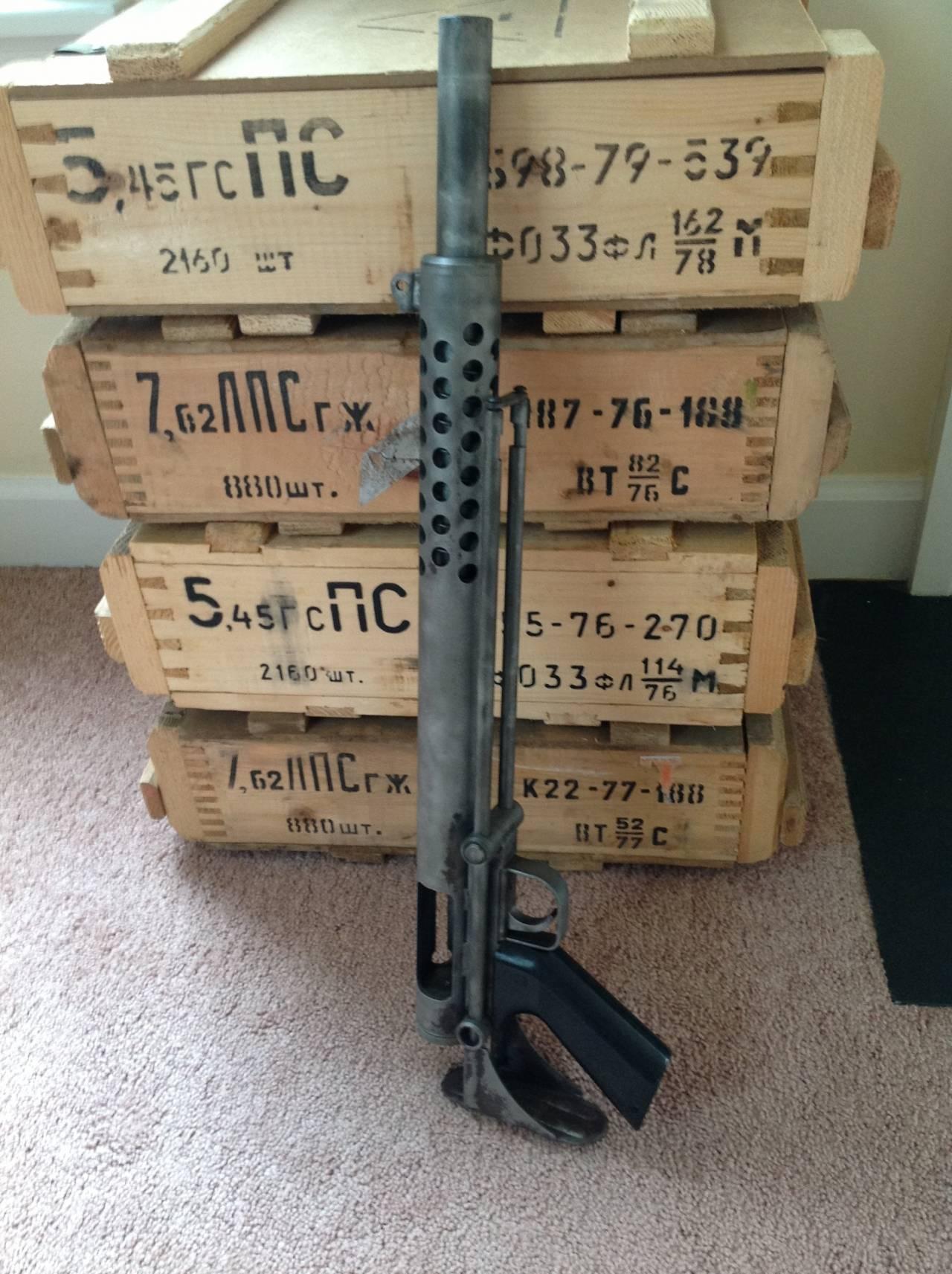 Гладкоствольное ружье Cobray Terminator  Самый плохой