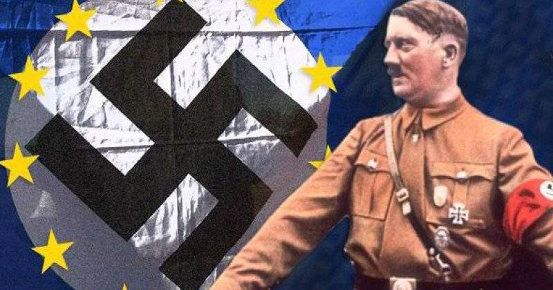 Europe on the road to Nazism. Let's compare 1920 and 2010