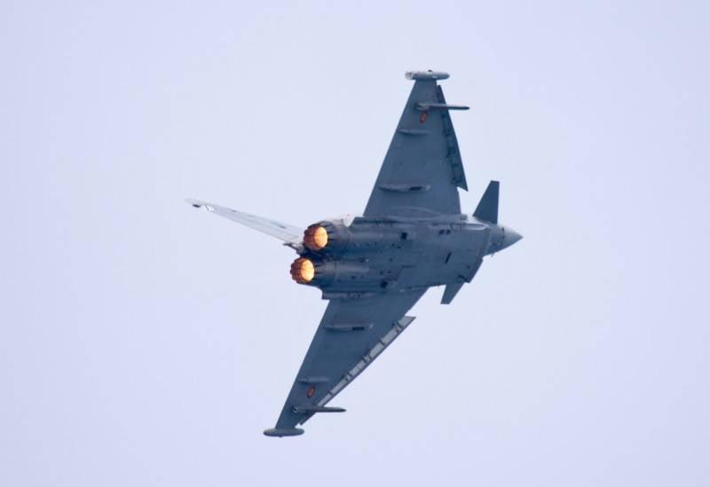La Colombia può acquistare Eurofighter Typhoon usato in Spagna