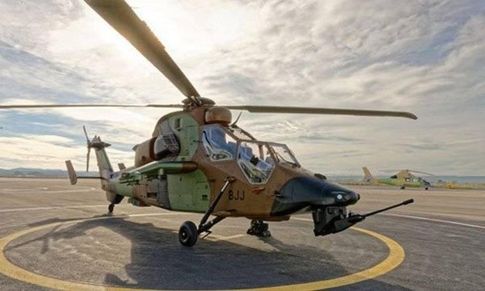 Francia tiene la intención de actualizar los helicópteros EC 665 Tiger
