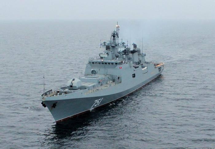 Russische Fregatten werden inländische Motoren ausrüsten