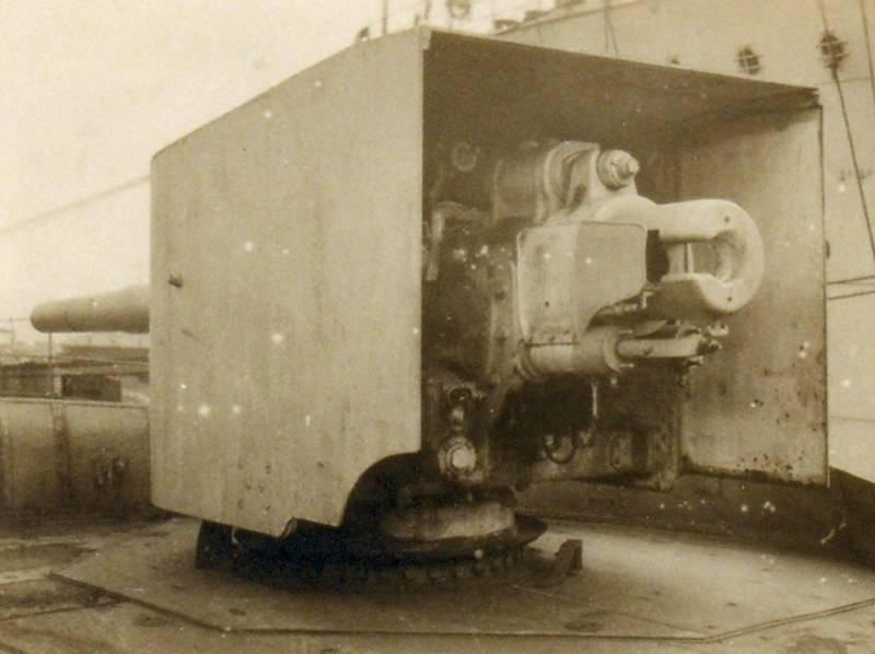 "Cruiser type ""Svetlana"". Part of 2. Artillery"