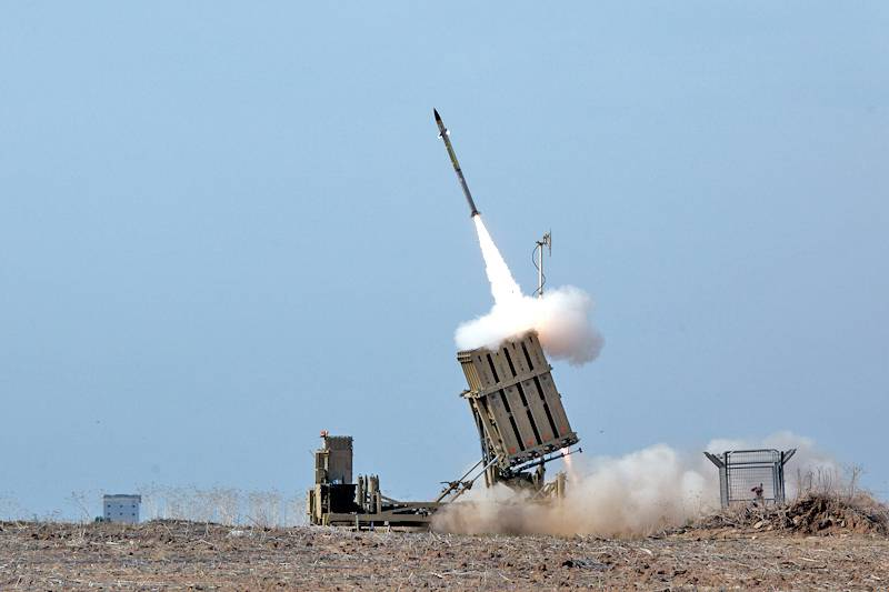 The Iron Dome was unable to intercept one of the Hamas missiles