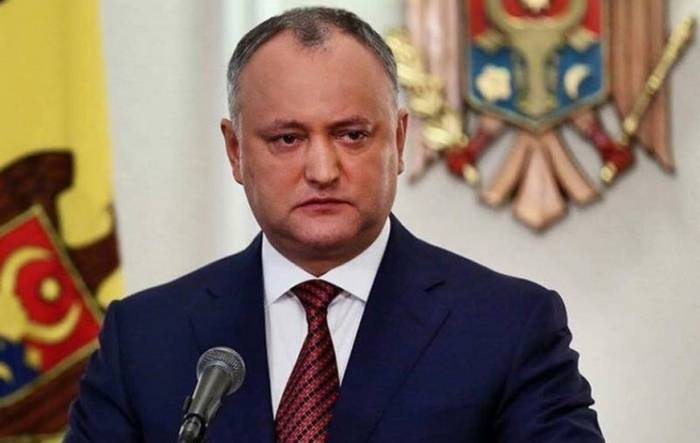 President of Moldova offered to remove from office