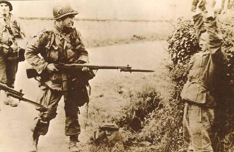 무기에 관한 이야기. 라이플 Garanda M1