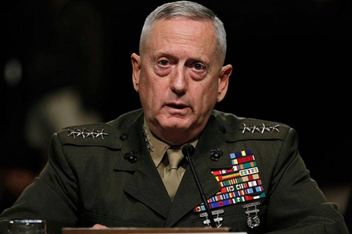 Mattis commented on US plans to dismember Syria