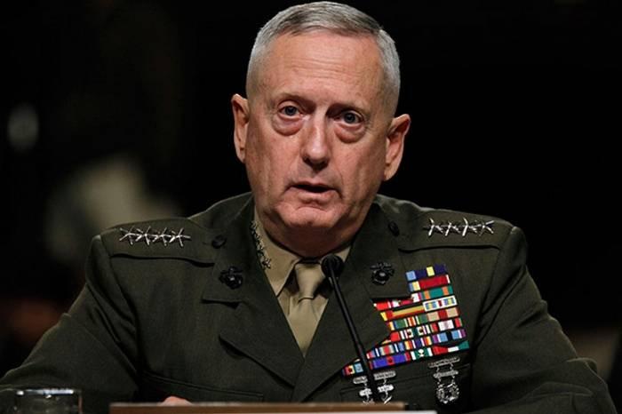 Mattis ha commentato i piani statunitensi di smembrare la Siria