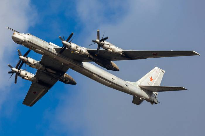 Australia was alarmed by the flights of the Russian Tu-95MS