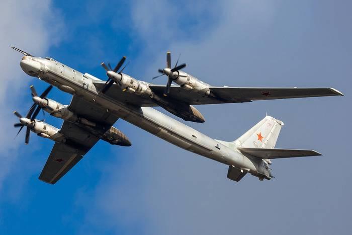호주 항공은 러시아 Tu-95MS 항공편에 경악했습니다.
