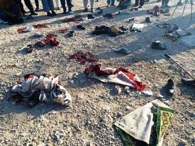 При взрыве напохоронах вАфганистане погибло 15 человек, 13 ранены