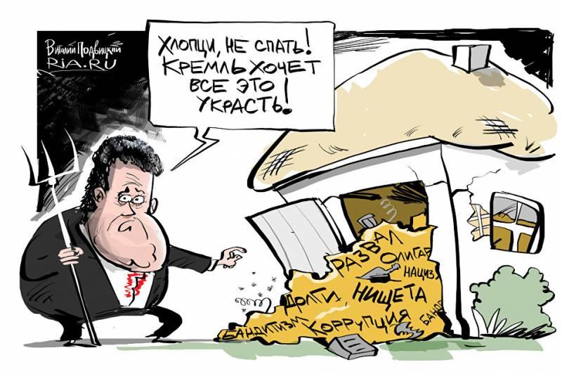 Записки Колорадского Таракана. И даже вместо свиньи теперь подкладывают верблюда, а вместо Порошенко видится Янукович