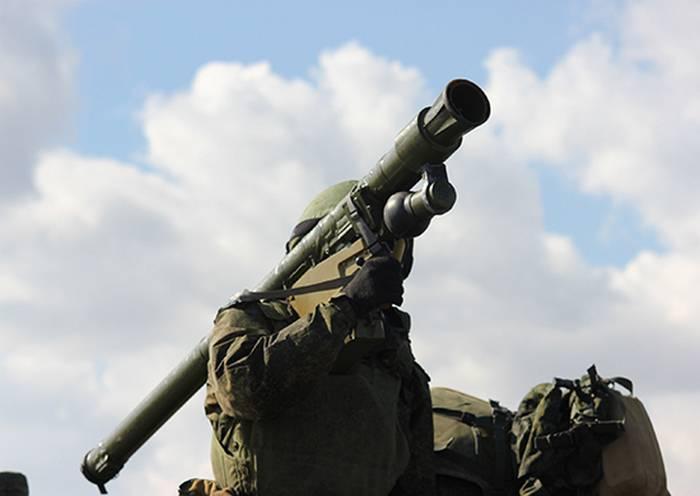 在地面部队中,正在开发一种战斗车辆用于与MANPADS的部门