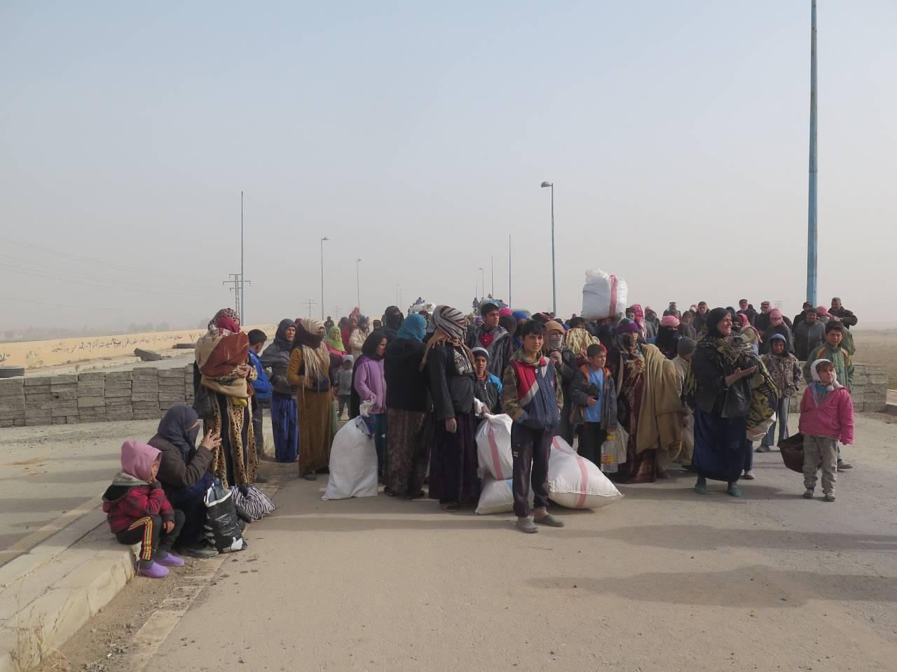 Rifugiati dell'Eufrate orientale Lunga strada verso casa
