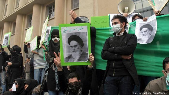 米国、イスラエル、サウジアラビア:抗議の主催者はイランで呼ばれています