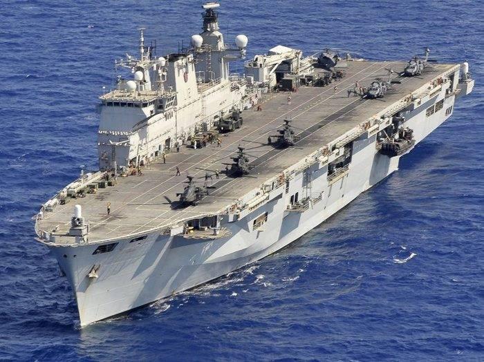 Бразилия приобретает британский вертолетоносец Ocean