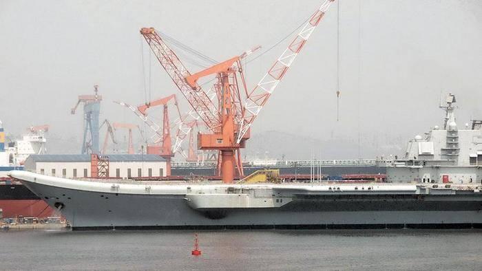 Media: China has begun construction of a third aircraft carrier