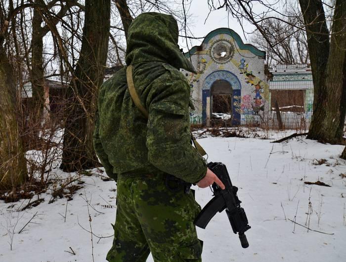Nel DPR sospetta APU nella preparazione di una provocazione nel sud del Donbass