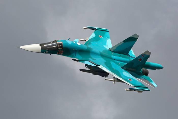 La modernizzazione di Su-34 inizierà nell'anno 2018