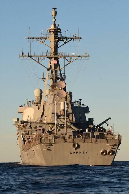 卡尼号航空母舰(DDG-64)进入黑海