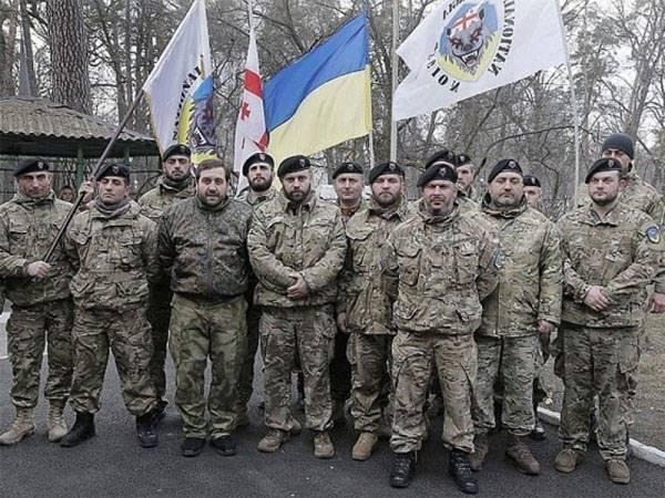 """为什么""""格鲁吉亚军团""""出自乌克兰武装部队?"""