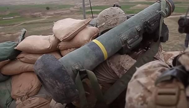"""LDN'de ABD medyasındaki yayınlarda APU için Javelin ATGM'nin """"eskortu"""" hakkında yorum yaptı."""