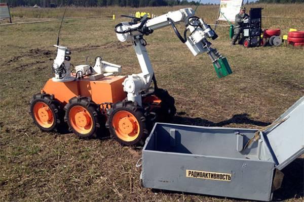 Para las tropas RCBZ desarrollará un nuevo complejo robótico.