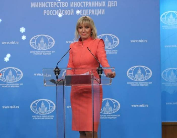 Zakharova commented on the statement of the head of the CIA