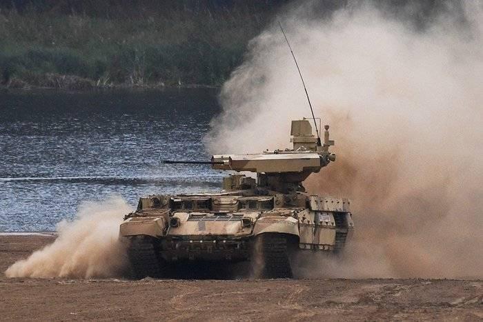 La entrega a las tropas Terminator de BMPT comenzará en marzo