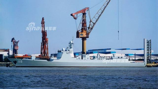 China demonstrates impressive pace of entry of ships into the Navy