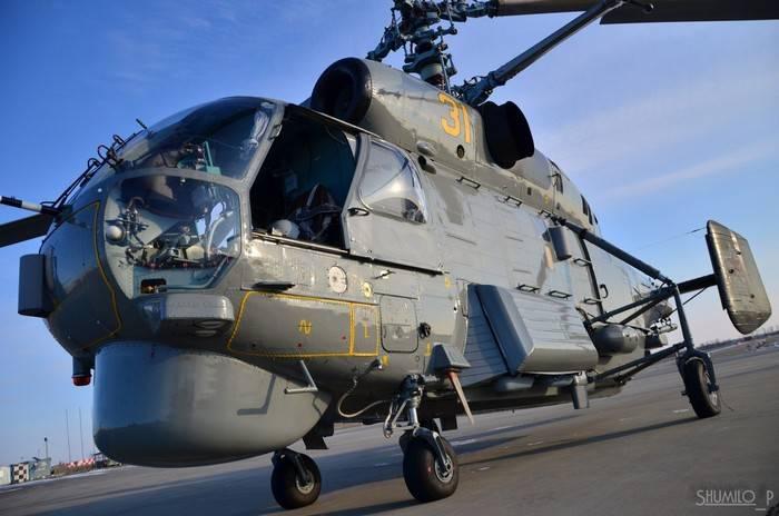 Eine Reihe von modernisierten Ka-27-Hubschraubern wurde an die Marine übergeben