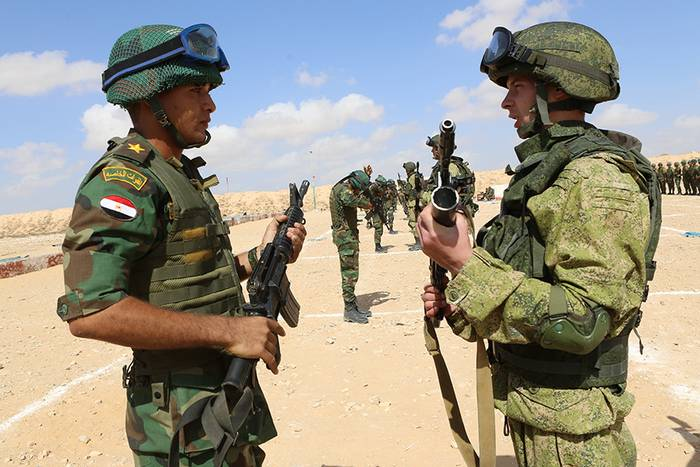 """Russia and Egypt will hold joint military exercises """"Defenders of Friendship"""""""