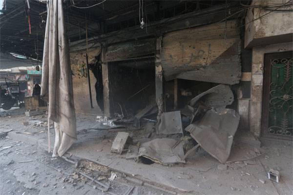 При обстреле Дамаска погибли 5 человек
