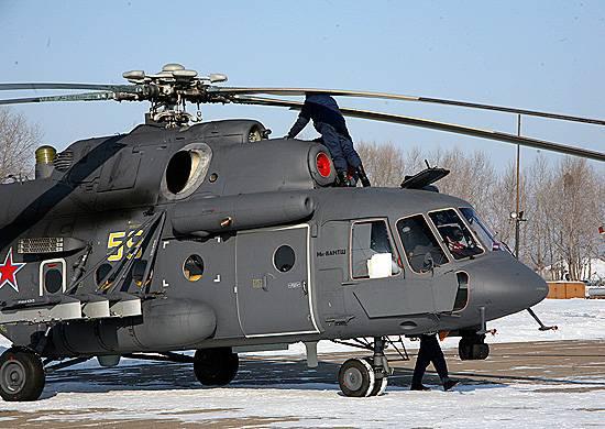 六架新的Mi-8AMTSH与Primorye的航空团队一起服役