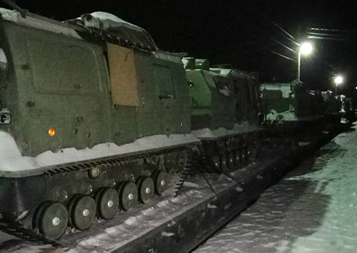 The arctic all-terrain vehicle entered service with the Northern Fleet.